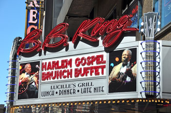 BB King's Club in New York